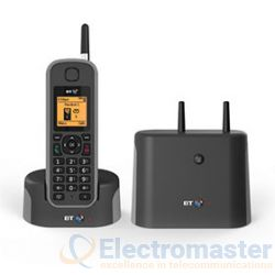 BT Elements 1K DECT Cordless Phone Black /Grey 079482