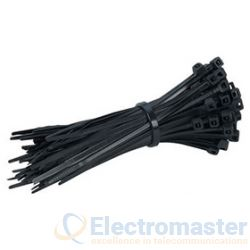 Cable Ties 160 x 4.8mm Black (pk 100)
