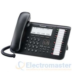 Panasonic KX-DT546 Black 24 Key Executive Digital Phone