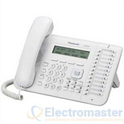 Panasonic KX-NT543 White 24 Key 3 Line LCD IP Phone