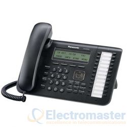 Panasonic KX-NT543 Black 24 Key 3 Line LCD IP Phone