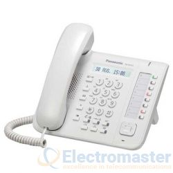 Panasonic KX-NT551White 8 Button IP Phone