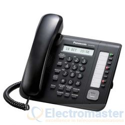 Panasonic KX-NT551 Black 8 Button IP Phone