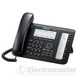 Panasonic KX-NT556 Black Self Labelling Phone