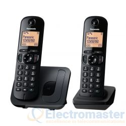 Panasonic KX-TGC212EB Cordless Phone Twin DECT