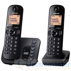 Panasonic KX-TGC222EB Twin DECT Phone