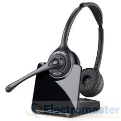 Plantronics CS520A Over The Head Binaural Wireless DECT Headset