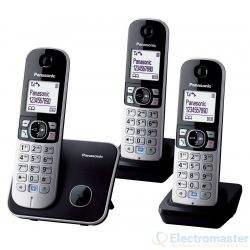Panasonic KX-TG6813EB Digital Cordless Phone with Three Handsets