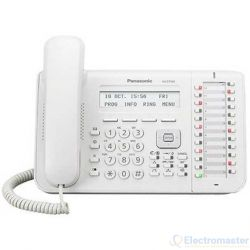 Panasonic KX-DT543 White 24 Key Digital Telephone