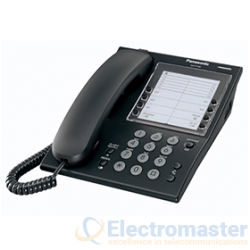 Panasonic KX-T7710E-B S.L.T Phone With Large One-Touch Button Panel