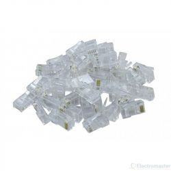 RJ45 Crimp Plugs (Pack of 100)