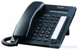 Panasonic KX-AT7730NE-B 12 Key Phone Black