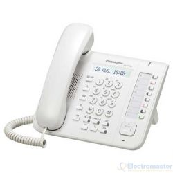 Panasonic KX-DT521 White 8 Key Standard Digital Phone